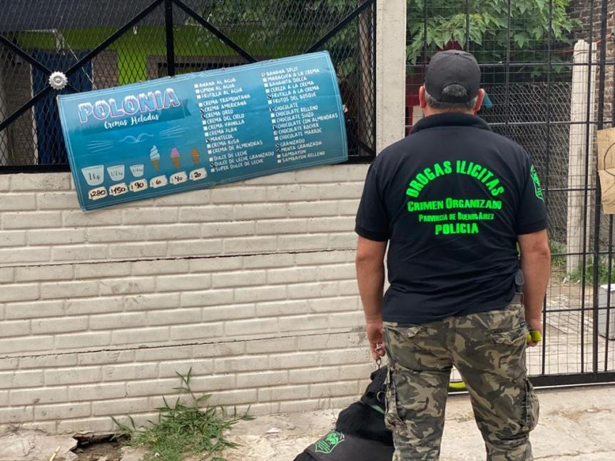 Detuvieron a 4 personas acusadas de una narco banda en Berazategui