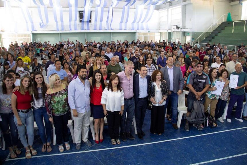 Unas 816 familias varelenses con nuevas escrituras