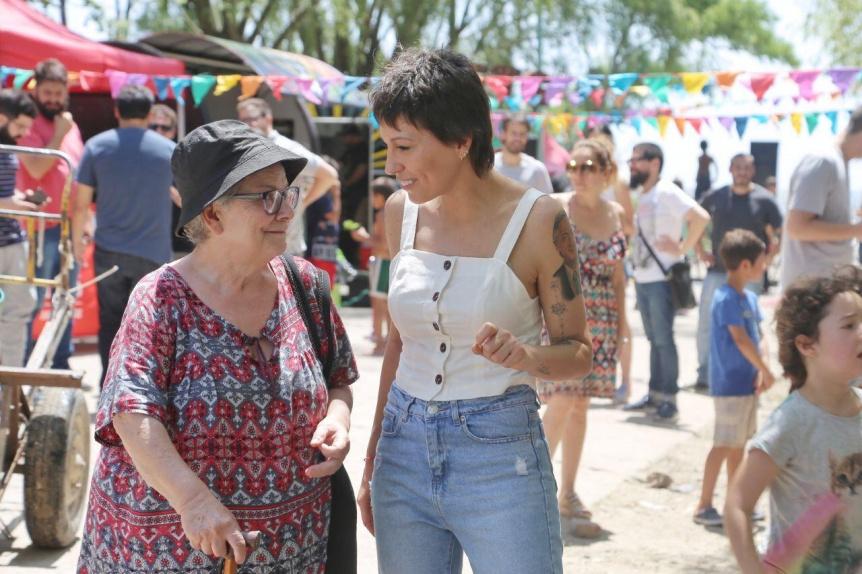 """Mayra Mendoza participó del lanzamiento del programa """"Verano en la Ribera"""""""