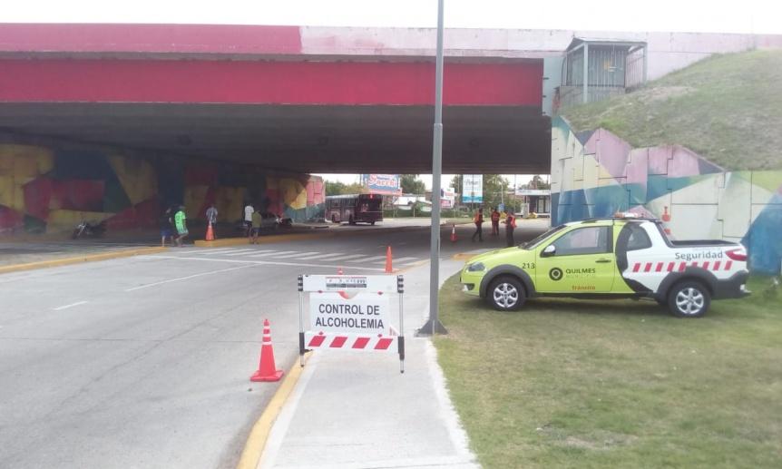 Operativos de control en las riberas de Quilmes y de Bernal