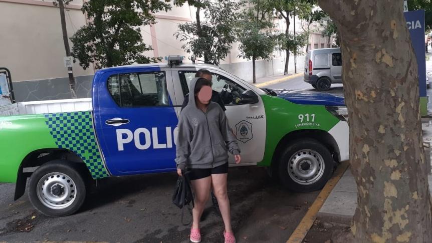 Encontraron sana y salva a la adolescente buscada en Quilmes centro