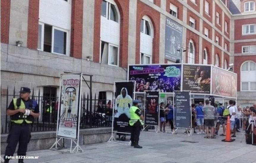 Un empleado del Teatro Auditorium de Mar del Plata se quitó la vida