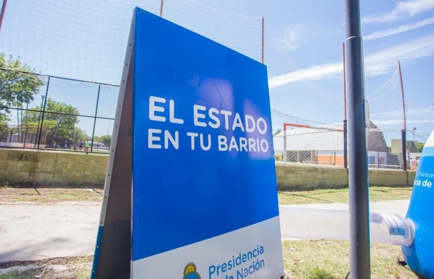 """Segunda jornada de """"El Estado en Tu Barrio"""" en Berazategui"""