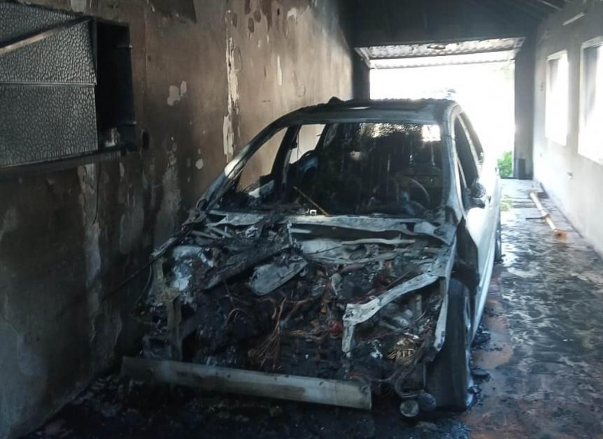 Trabajadores municipales apagaron un incendio en Berazategui