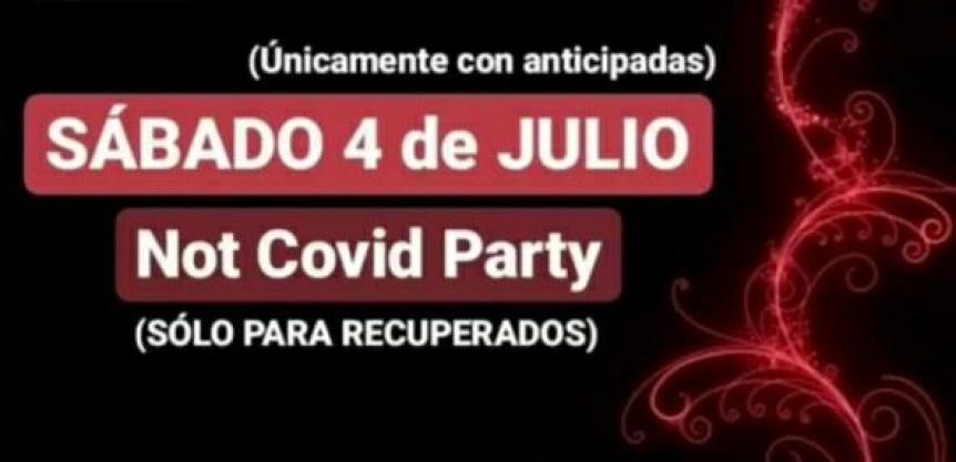Organizan una fiesta clandestina para recuperados de COVID en Quilmes