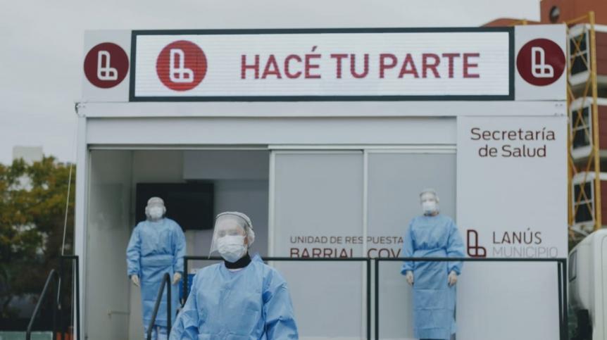 Lanús cuenta con 2 nuevos consultorios móviles para testeos de COVID-19