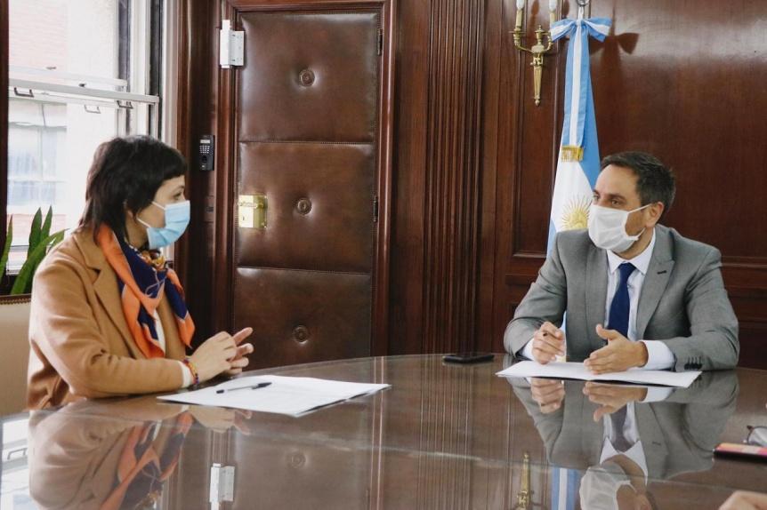 Firman convenio por el proyecto del Eco Parque Quilmes