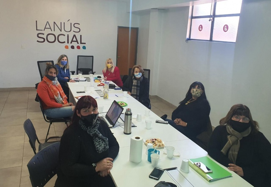 Lanús fortalecerá el programa de asistencia con las Manzaneras