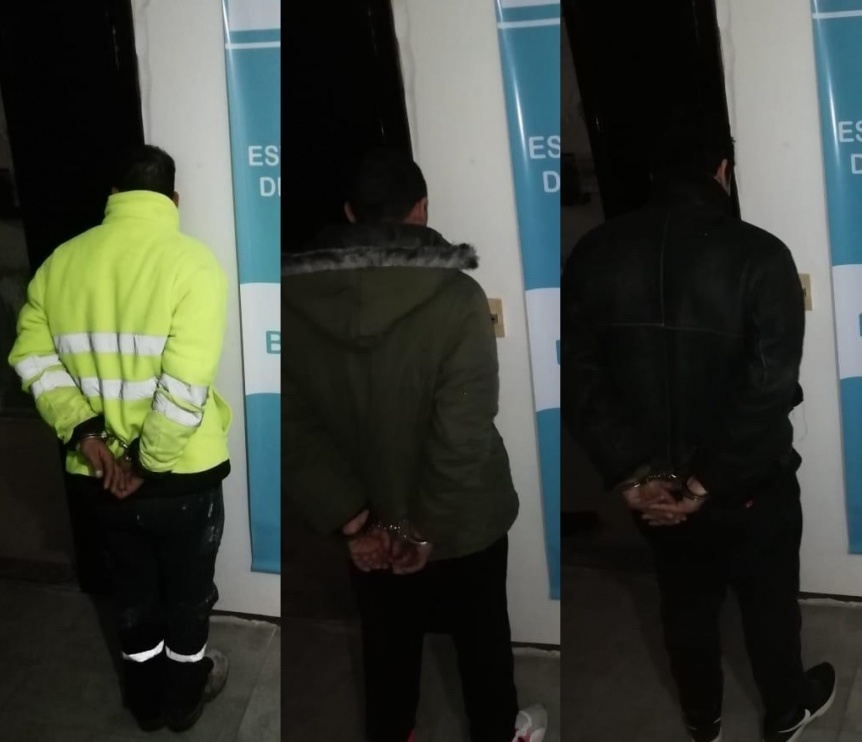 Detienen a presuntos autores de entradera a una polic�a de la Ciudad