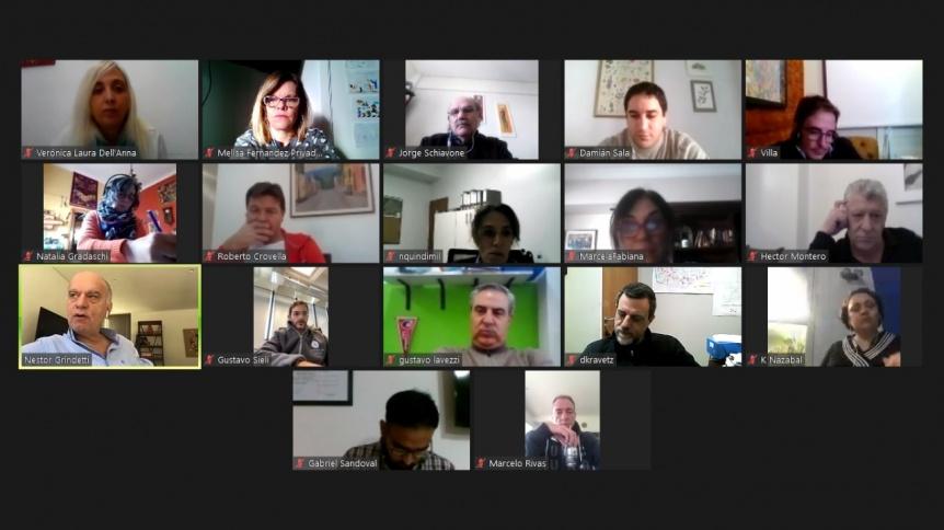 Lan�s: Grindetti reuni� a concejales y consejeros escolares