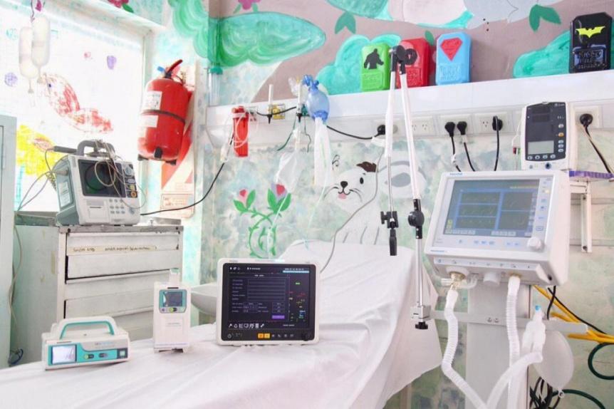 Nuevo equipamiento para mejorar la guardia pedi�trica del Hospital de Solano