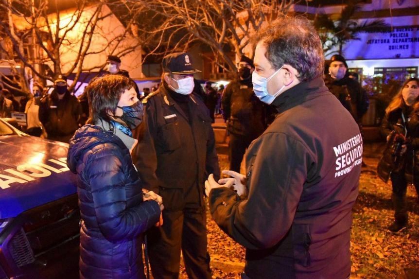 Se implementar�n cambios en la estructura policial de Quilmes