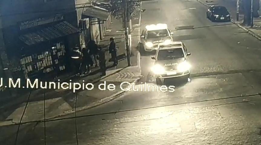 Frustran intento de robo en locutorio de Quilmes centro