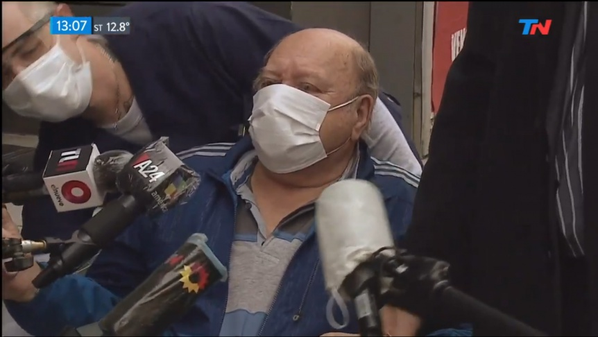 Le dieron el alta al jubilado que mató a un ladrón en Quilmes