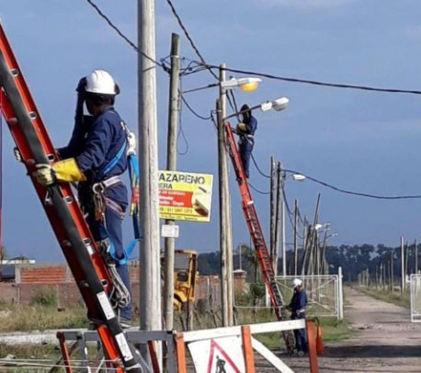 Edesur est� realizando obras para mejorar el servicio