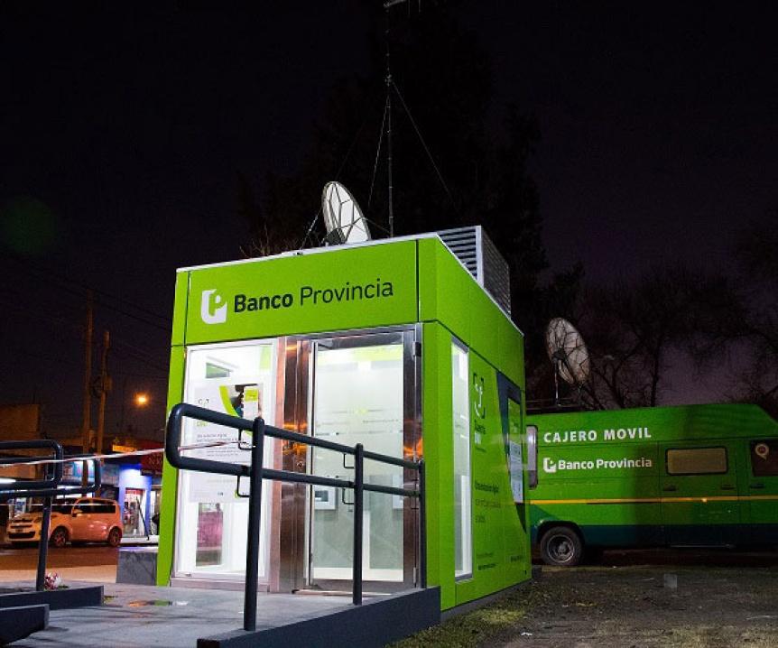 Florencio Varela: Instalan nuevos cajeros automáticos en Kilómetro 26