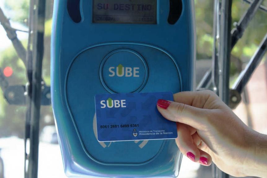 No se puede circular en transporte público sin la SUBE declarada en el permiso