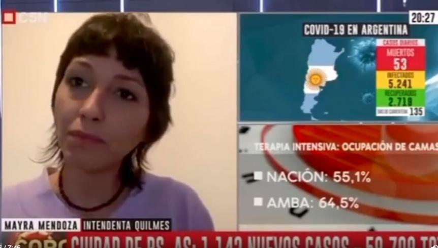 """Mayra Mendoza y su cuadro de COVID: """"La verdad, no la pasé bien"""""""