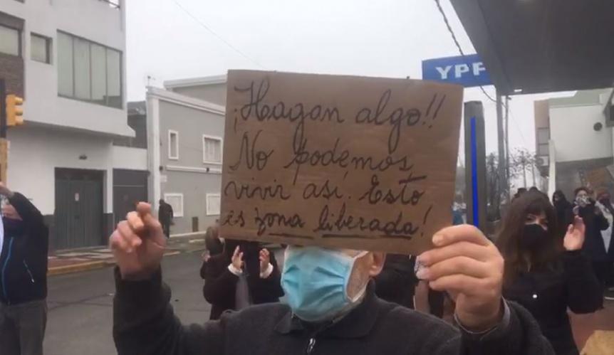 Realizan un nuevo corte en Mitre y Hernández en reclamo de seguridad