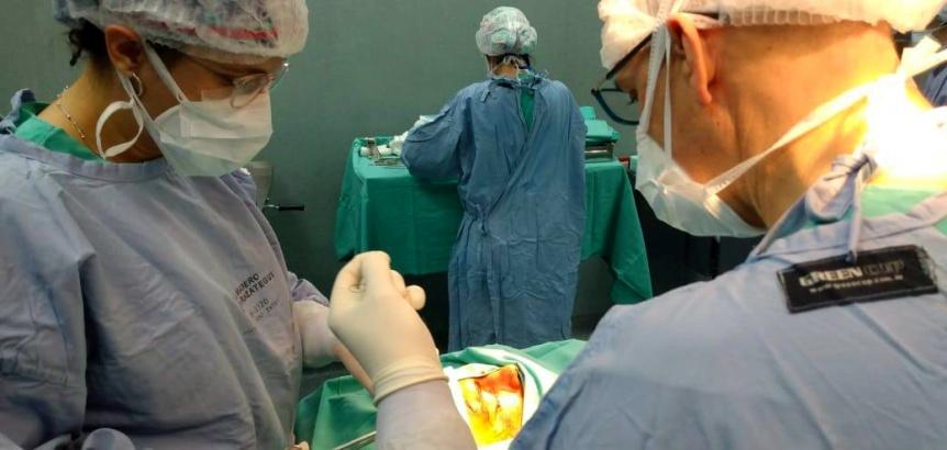 Hospital El Cruce: Extrajeron un cepillo de dientes incrustado en un ojo