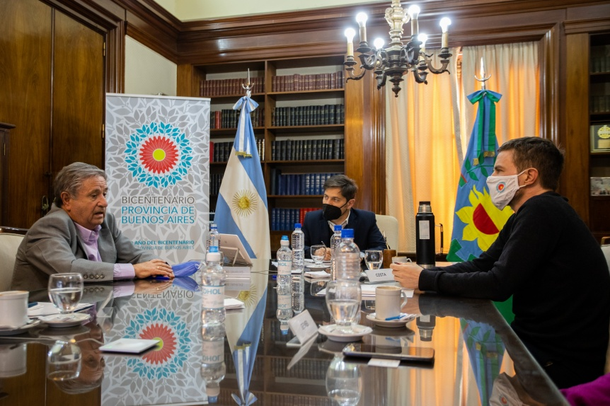 La Provincia firmó un convenio para potenciar el desarrollo productivo