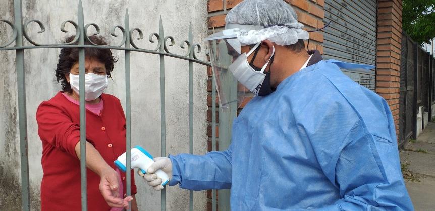Florencio Varela: Operativo socio-sanitario en Mayol