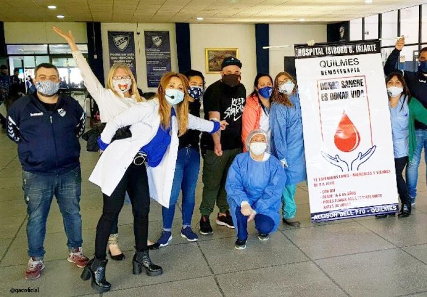 Se realizó la segunda jornada de donación de sangre