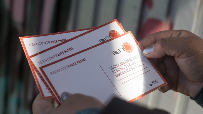 """Lanús puso en marcha el programa """"Arte postal para reencontrarnos"""""""