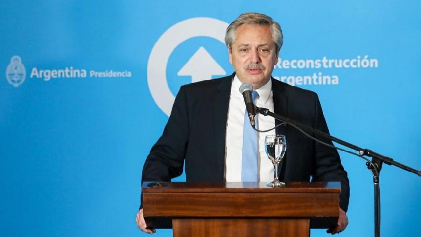 El Presidente dijo que estudia la creación de un fondo de asistencia a las provincias en 2021