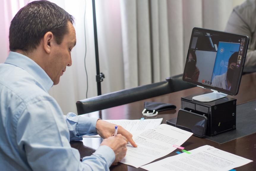 Varela: Andr�s Watson adhiri� al Plan Nacional de Suelo Urbano
