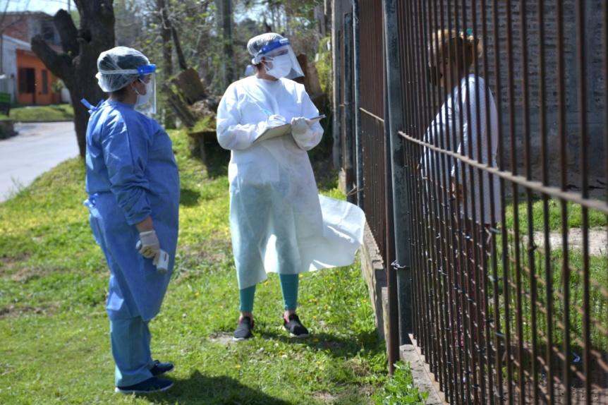 Avance de los casos de coronavirus en la regi�n