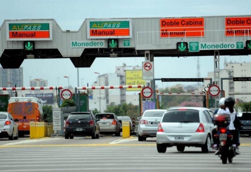 Desde este lunes ser� obligatorio el uso del Telepase en las autopistas porte�as