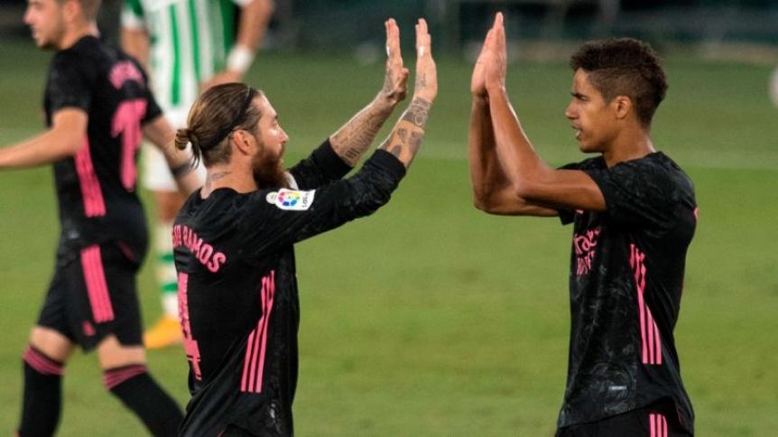 El Madrid le gan� al Betis y logr� su primera victoria de La Liga