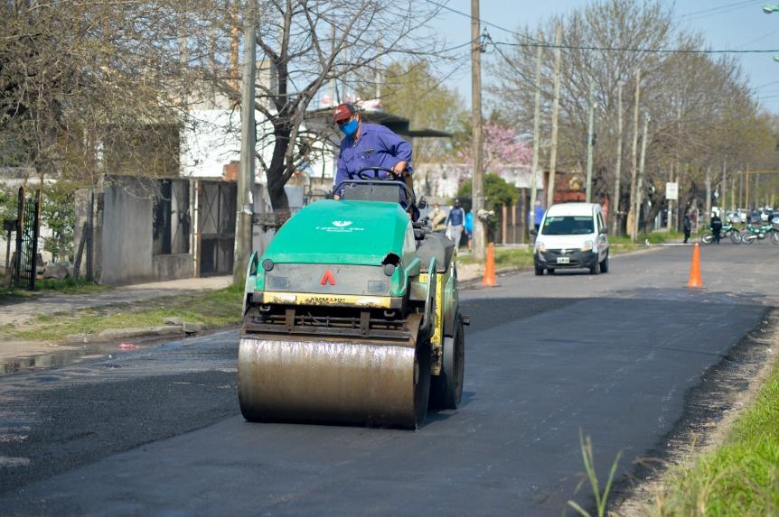 Realizan trabajos de servicios públicos en Varela