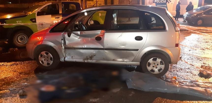 Un muerto y otro herido tras un choque en Bernal Oeste