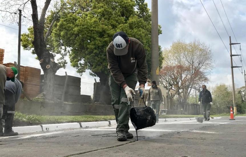 Limpieza urbana y tareas preventivas de saneamiento h�drico en Quilmes