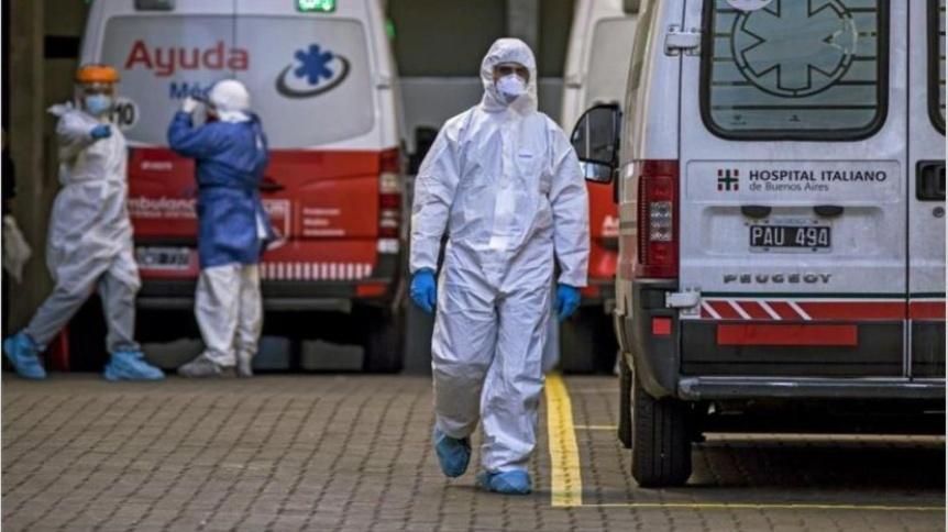 Confirmaron 421 muertes y 17.096 nuevos contagios en las �ltimas 24 horas