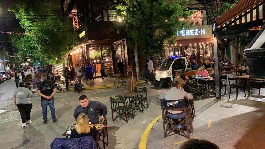 Gran noche para los corredores gastron�micos en Quilmes
