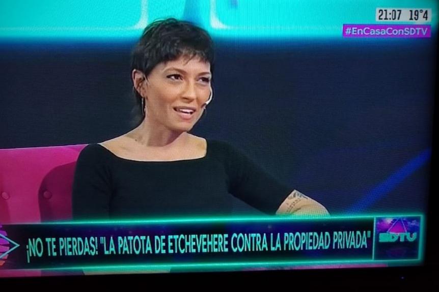 Mayra Mendoza estuvo en el programa Sobredosis de TV