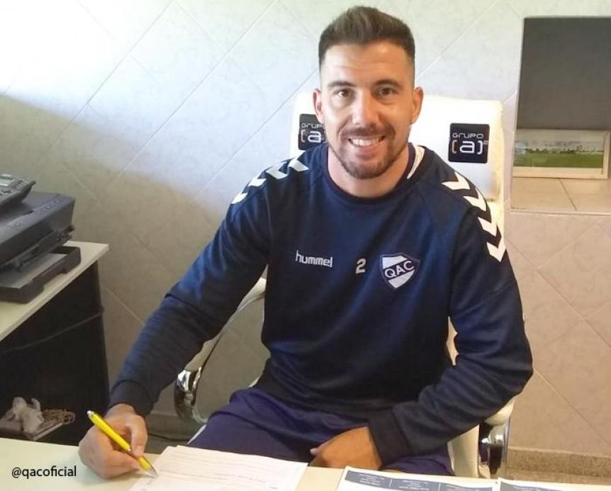 Jonatan Bauman firm� su contrato y es el s�ptimo refuerzo