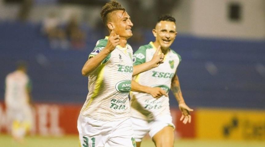 Defensa y Justicia venció 2-1 a Sportivo Luqueño  en Paraguay