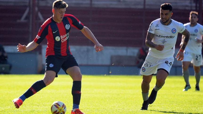San Lorenzo, en el inicio del ciclo de Soso como DT, debuta ante Argentinos