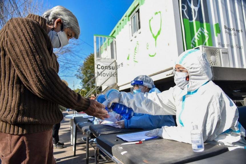 Reporte de los contagios de COVID-19 en los municipios de la regi�n