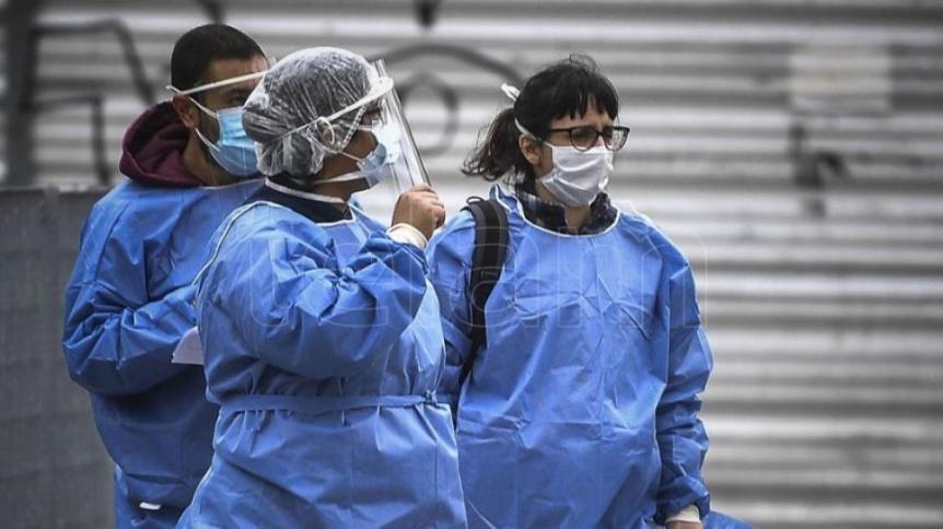 Confirmaron 9.608 contagios y 261 nuevas muertes en las �ltimas 24 horas