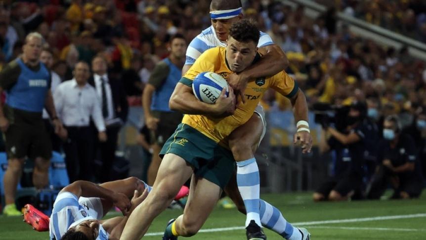 Los Pumas, tras la hist�rica victoria ante los All Blacks, igualaron con Australia