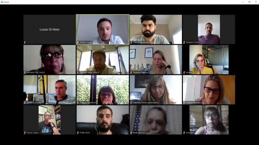 Grindetti participó de una reunión virtual sobre salud con Quirós