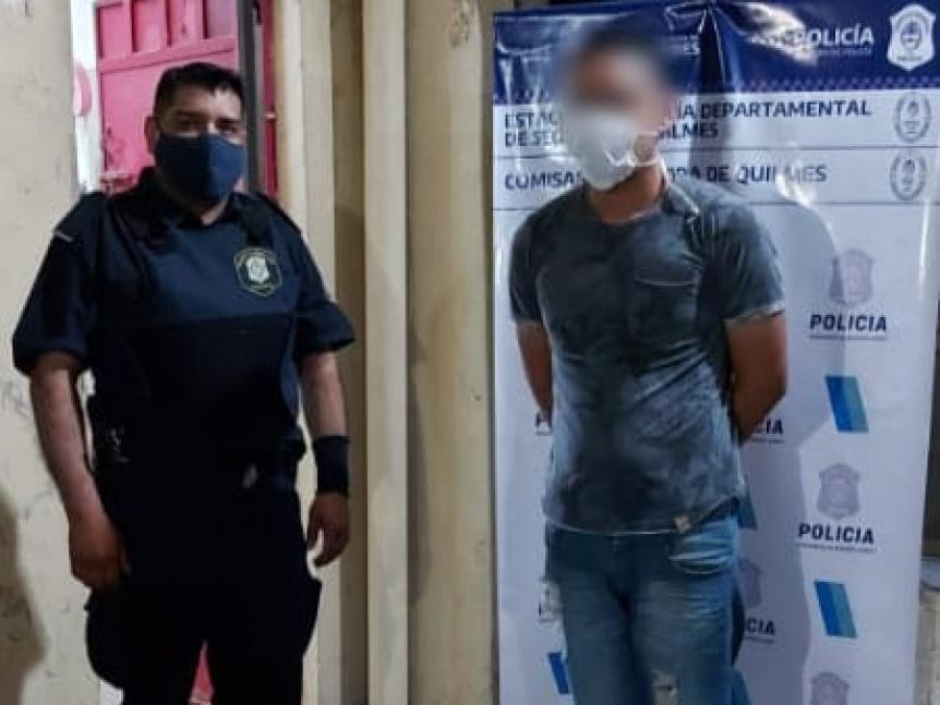 Arrestan a sujeto por golpes y amenazas contra su pareja