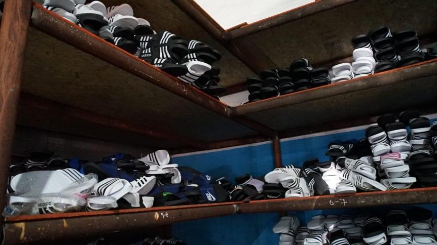 Operativo en Lan�s: 14 detenidos en una f�brica clandestina de calzado