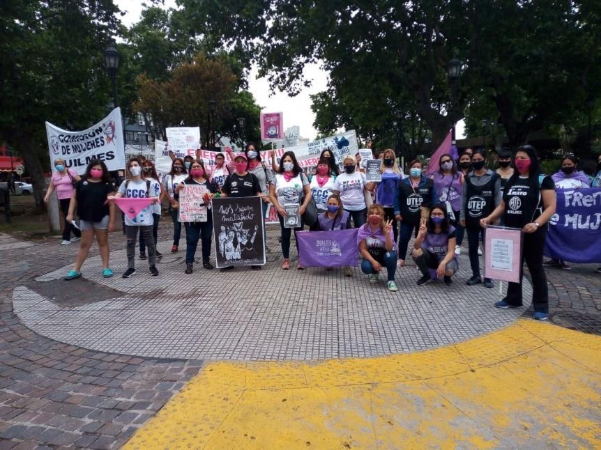 Mujeres exigen la implementación de la emergencia en violencia