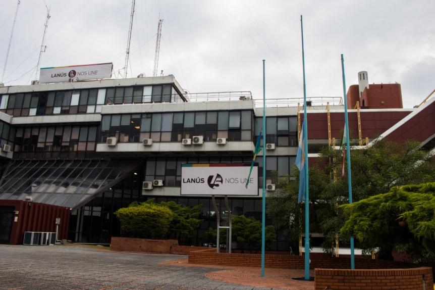 El Municipio de Lanús decretó duelo por la muerte de Diego Maradona